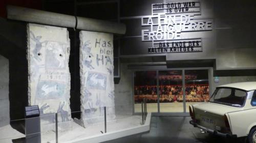 Morceaux du mur de Berlin