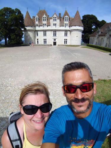 Selfie devant le Château