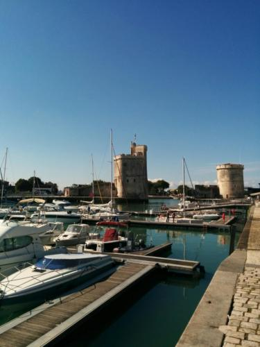 Les tours surveillent le port